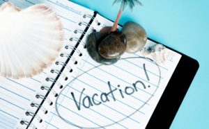prepare your business for your vacation