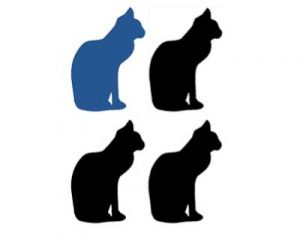 Image of 4 cats