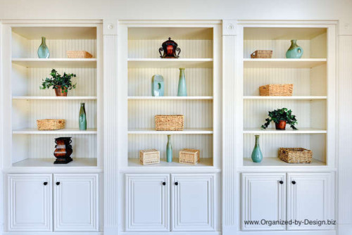 watch 48ee5 06673 Style Your Bookcases to Stage Your Home | Organized by Design