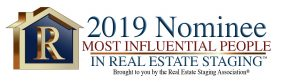 2019 Nominee Most Influential People in Real Estate Staging Logo