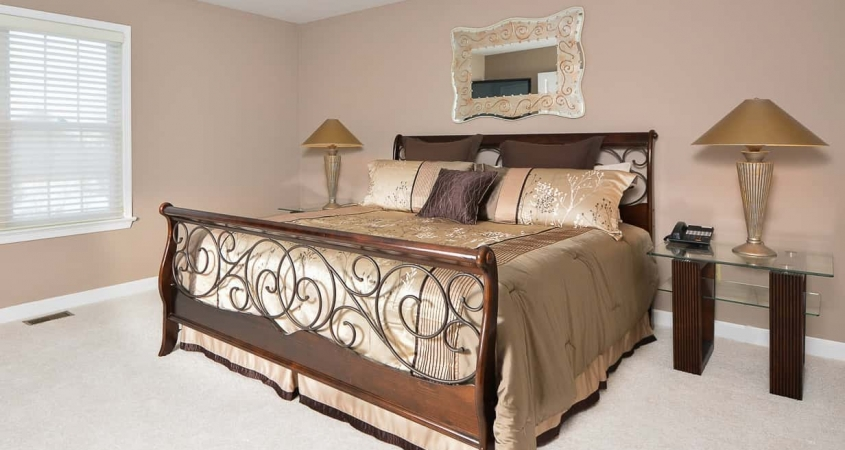 Organized by Design Staging of Guest Bedroom