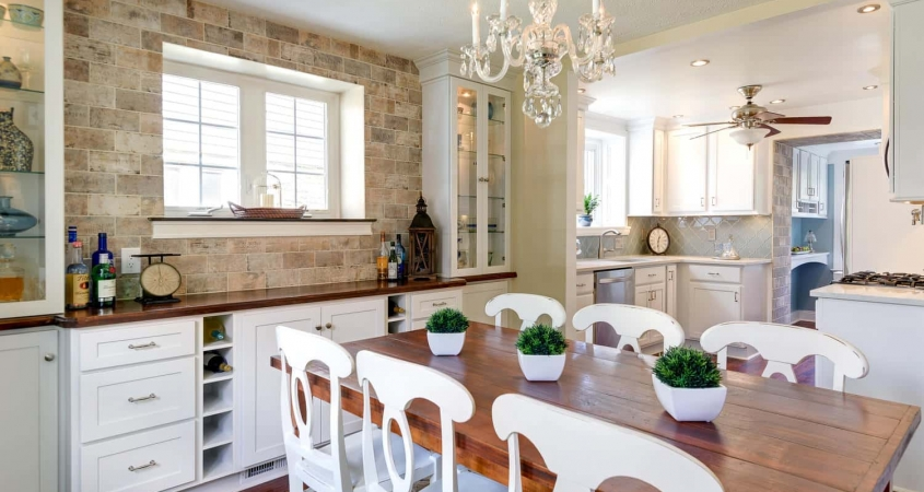 Organized by Design Dining Room Kitchen Makeover Redesign