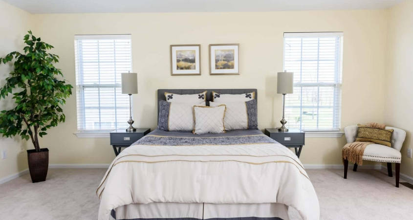Organized by Design Vacant Home Staging Master Bedroom