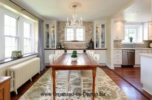 Kitchen and Dining Room Makeover by Organized by Design