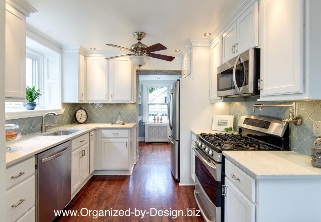 Home Makeover Kitchen and Dining Room by Organized by Design