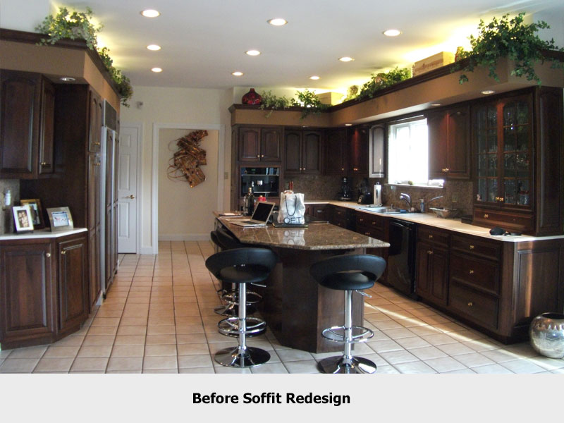 Kitchen Soffit Design Confusion| Organized by Design on ideas to decorate stairways, ideas to decorate kitchen cabinets, ideas to decorate kitchen walls, ideas to decorate kitchen windows,